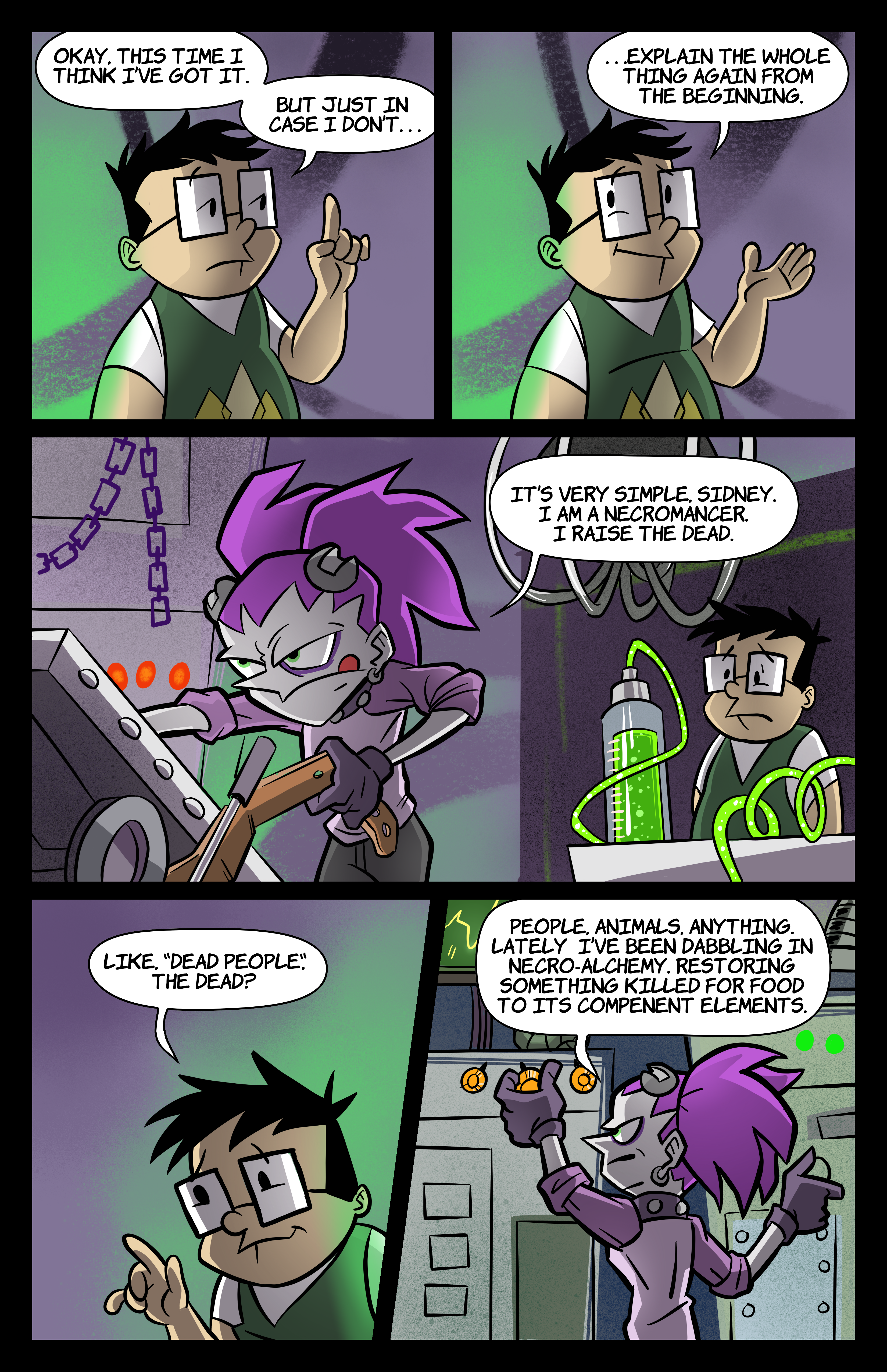 0: Tabitha Faust and the Fearsome Fate of Frankenfishstick Pg 1