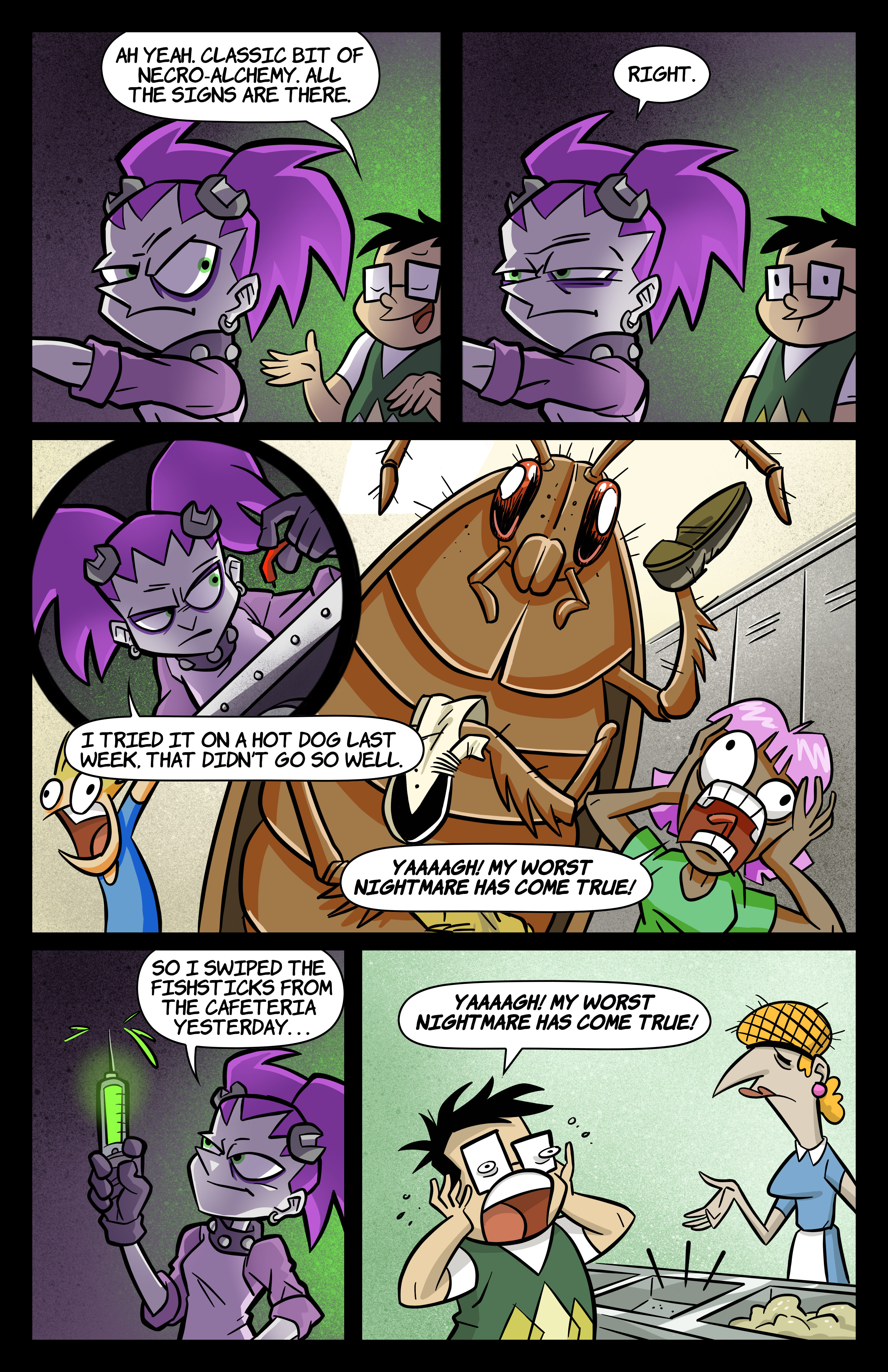 0: Tabitha Faust and the Fearsome Fate of Frankenfishstick Pg 2