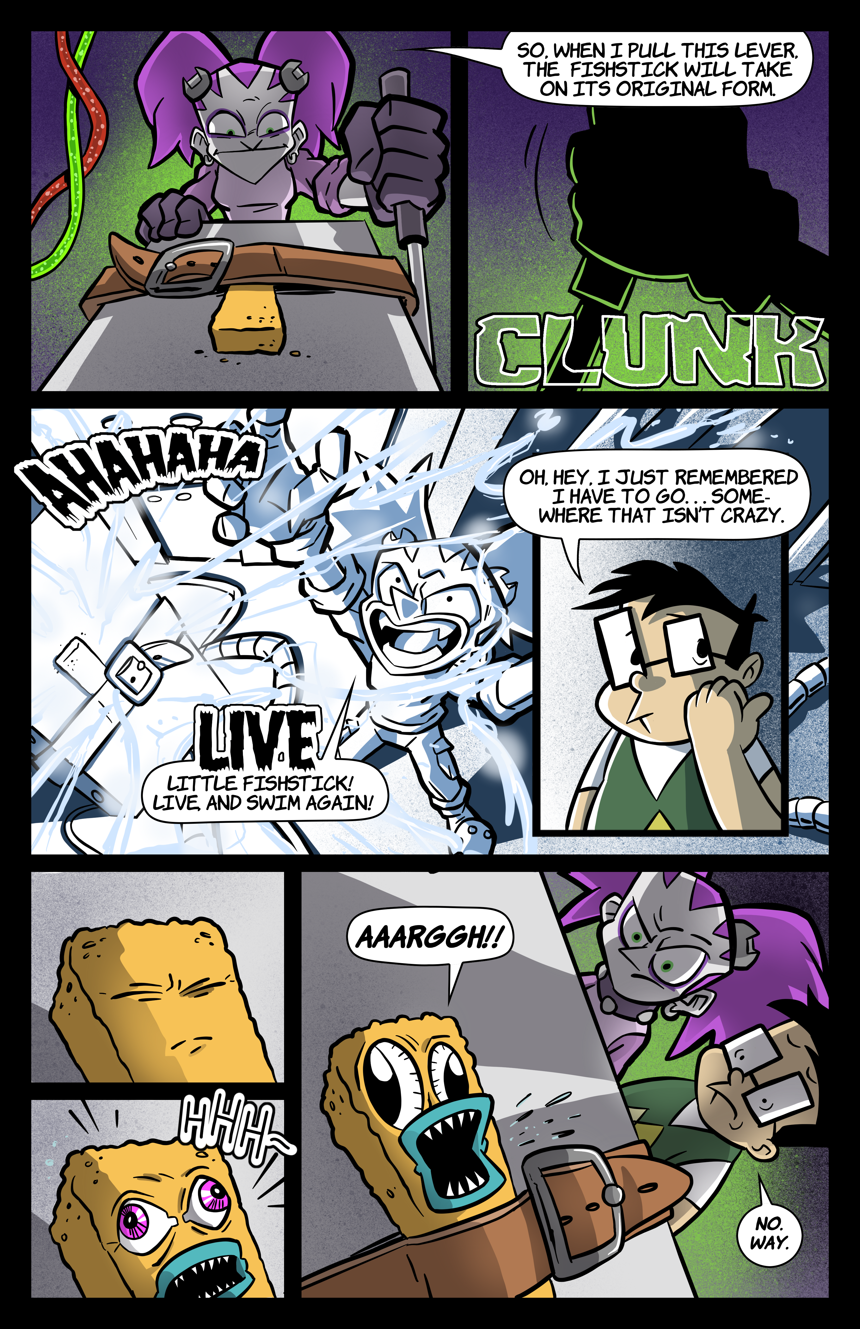 0: Tabitha Faust and the Fearsome Fate of Frankenfishstick Pg 3