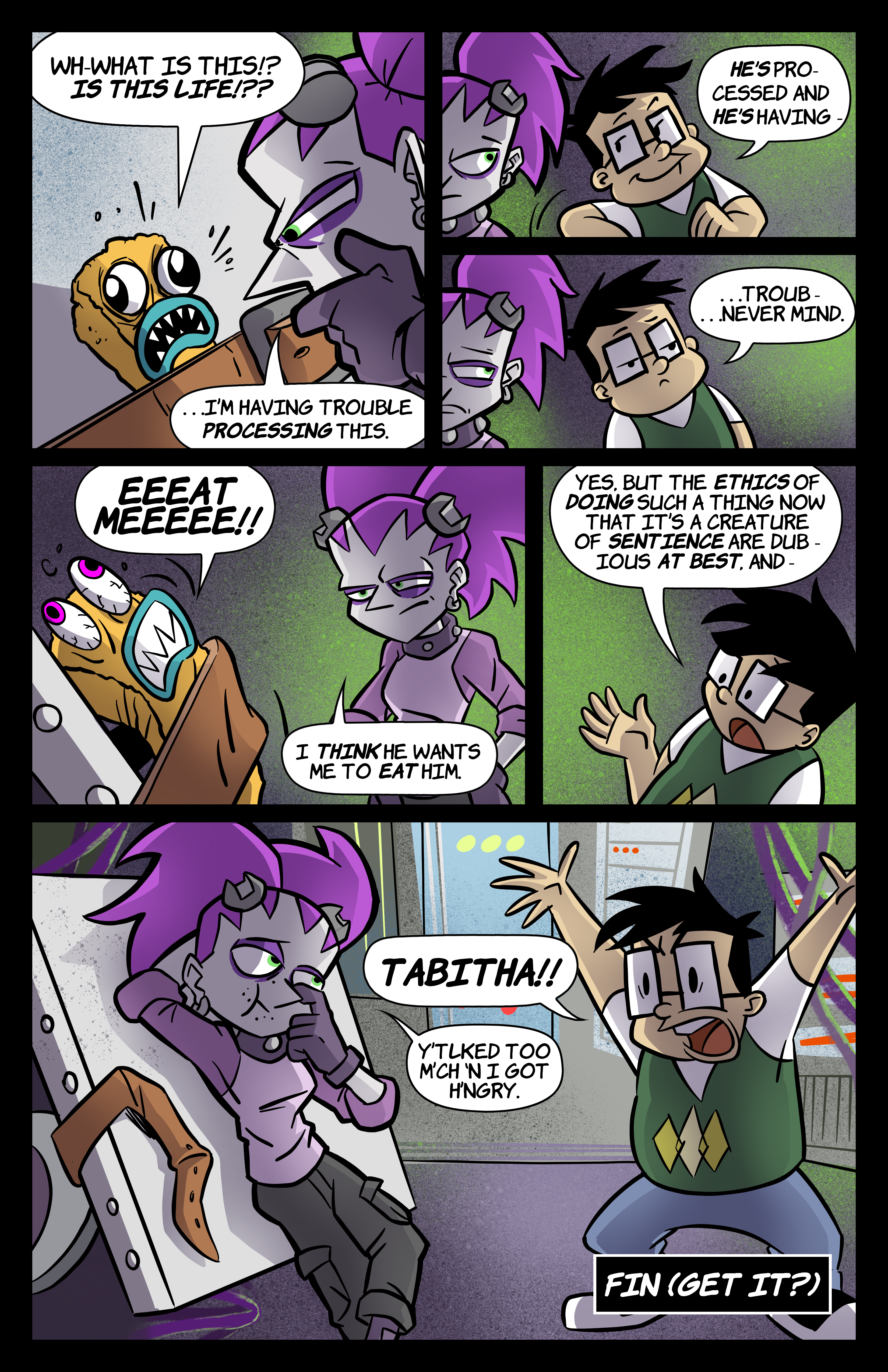 0: Tabitha Faust and the Fearsome Fate of Frankenfishstick Pg 4