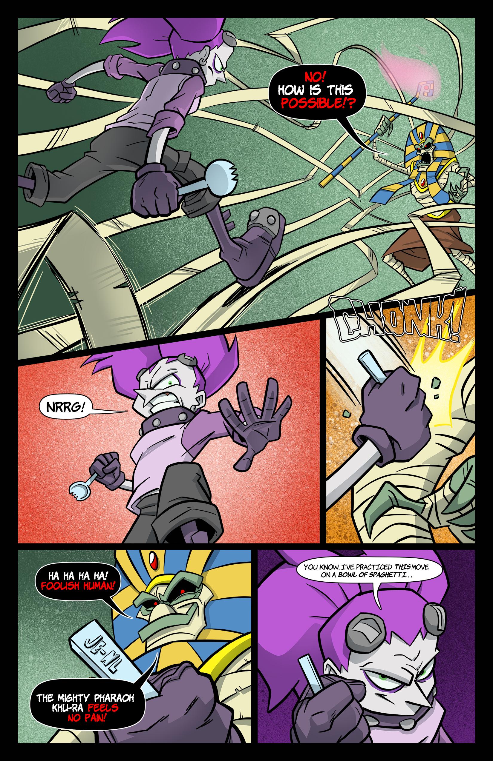 1: Tabitha Faust and the Calamitous Curse of Khu-Ra pg 5