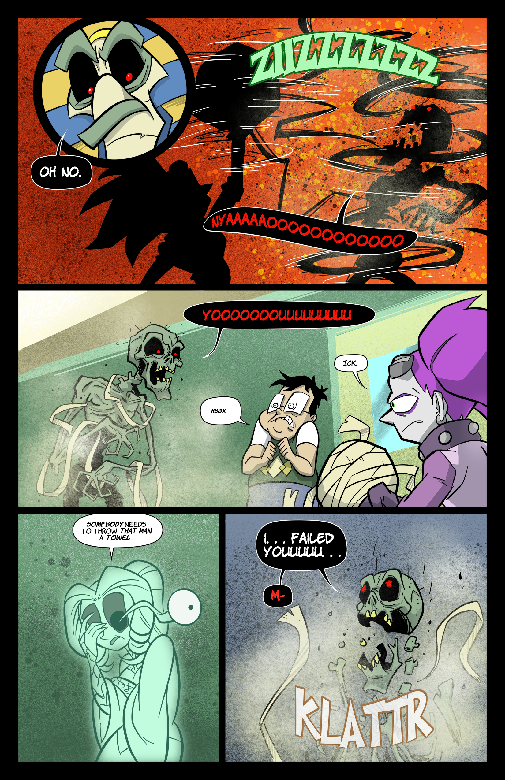 1: Tabitha Faust and the Calamitous Curse of Khu-Ra pg 6