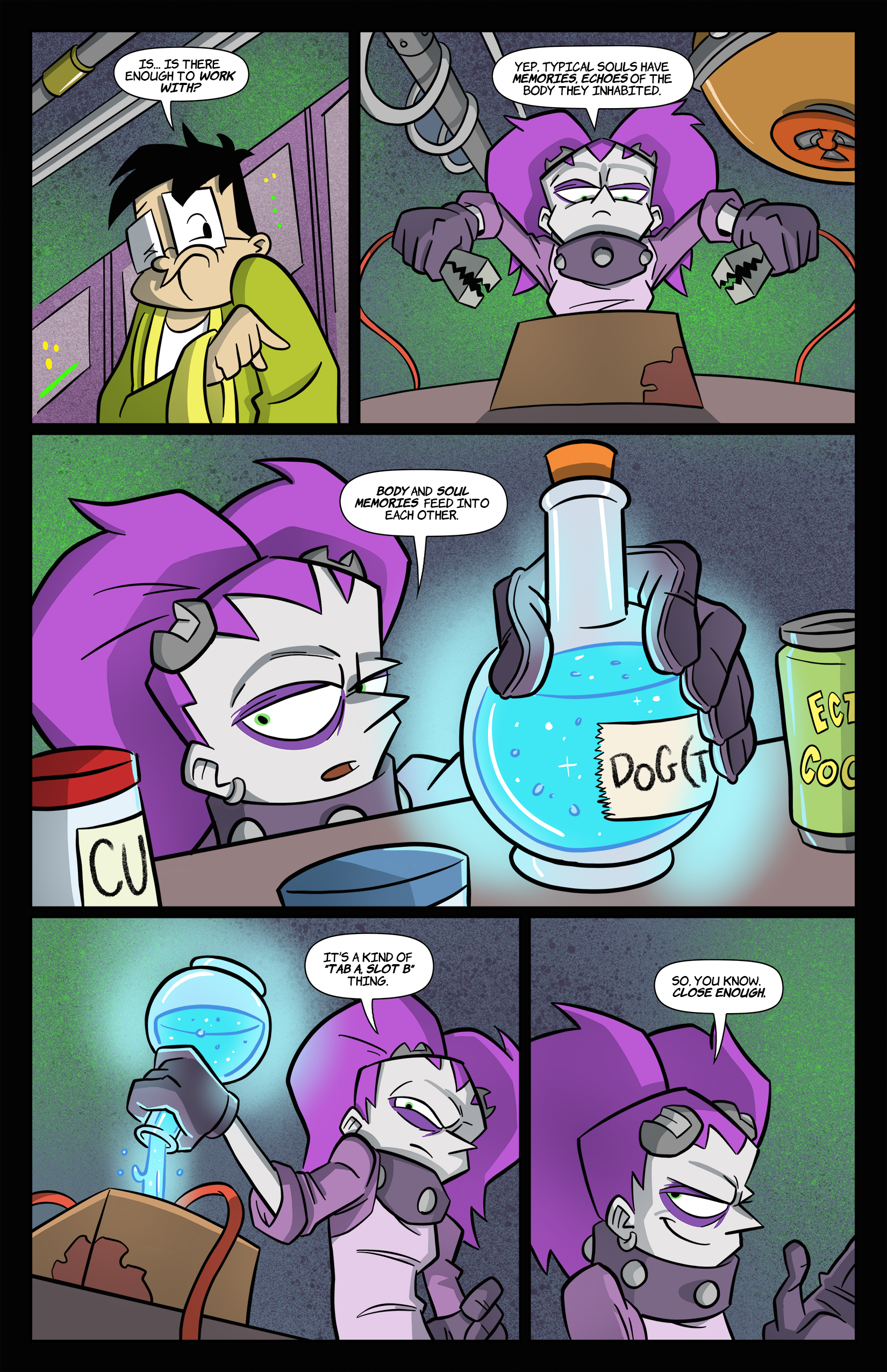2: Tabitha Faust and the Jaundiced Jaws of Juicebox Pg 2
