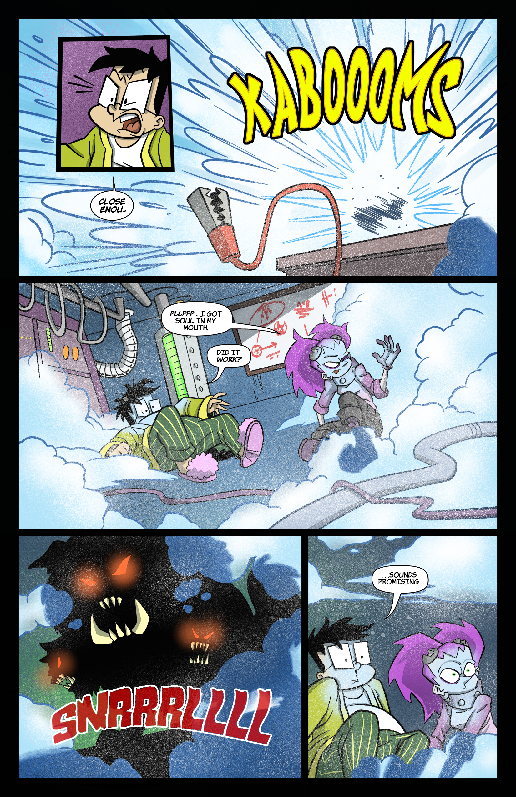 2: Tabitha Faust and the Jaundiced Jaws of Juicebox Pg 3