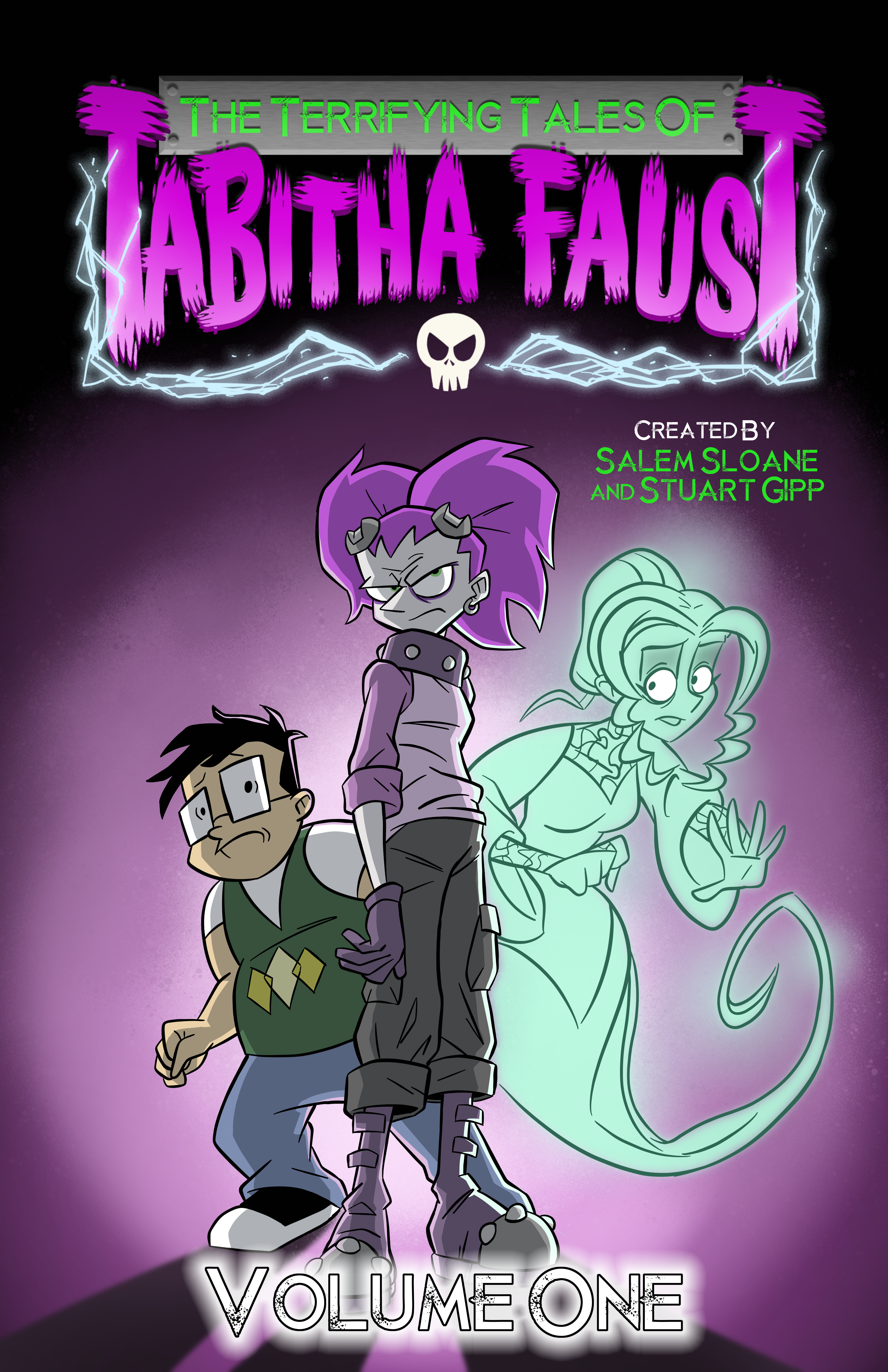 The Terrifying Tales of Tabitha Faust – Volume 1 (Cover)